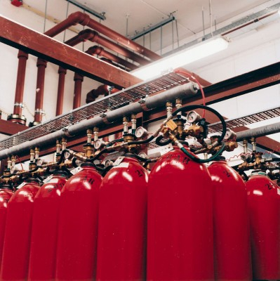Data center fire protection systems