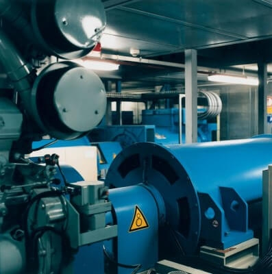 Emergency data center power generators