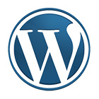 Wordpress web hosting logo