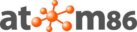 Atom86 network logo