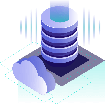 Cloud hosting & storage image