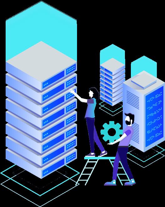 Dedicated server area image